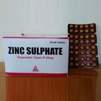 Zinc Sulphate 20 MG Tablets