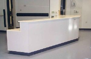 Hospital Reception Counter