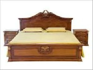 Wooden Double Beds