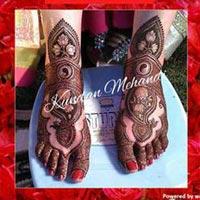 Bridal Mehandi Designing 12