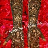 Bridal Mehandi Designing 13