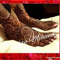 Bridal Mehandi Designing 15