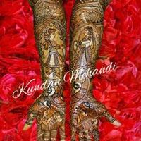 Bridal Mehandi Designing 24