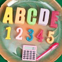 Alphabets and Numbers Travel Soap