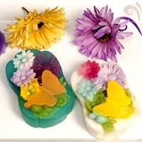 Butterfly in Garden Designer Soap