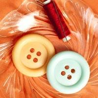 Button Travel Soap