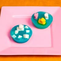 Swimming Duck Embedded Soap