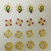 Gold Diamond Nose Pins