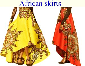 Ladies African Skirt 02