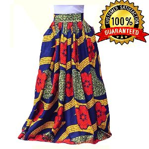 Ladies African Long Skirt
