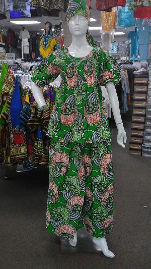 Ladies African Night Suit
