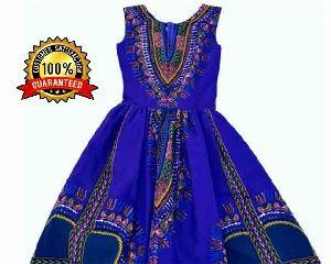 Ladies African One Piece Dress