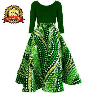 Ladies African Top & Skirt Set