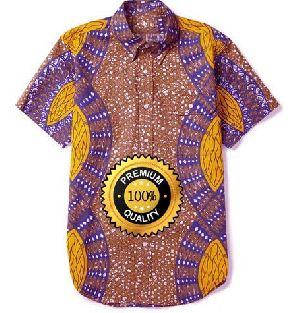 Mens African Print Shirts