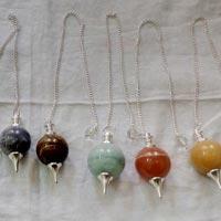 Agate Seven Chakra Balls
