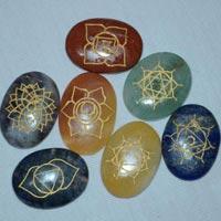Agate Seven Chakra Runes