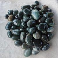 Agate Stone Green Tumbled