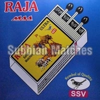 Raja Ultra Safety Matchbox