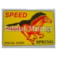 Speed Special Wooden Safety Matchbox