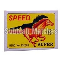 Speed Super Wooden Safety Matchbox