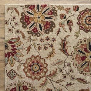 Ivory Hand Knotted Rugs