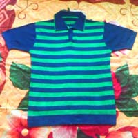 Mens Knitted Polo T Shirts