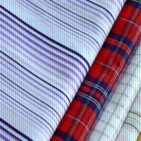 Polyester Cotton Yarn Dyed Woven Fabric