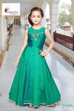 2316- Girls Party Wear Gown