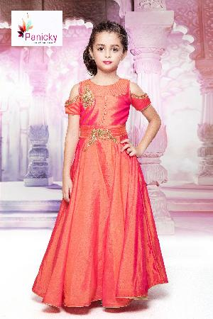 Girls Party Wear Gown 01