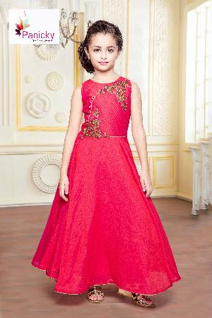 Girls Party Wear Gown 02