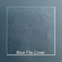 Blue File Cover