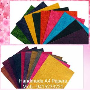 Handmade A4 Size Paper