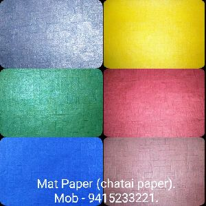 Mat Paper