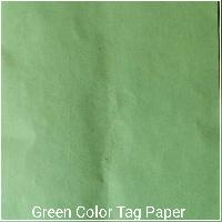 Green Tag Paper
