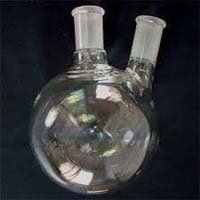 Quartz 2 Neck Flasks