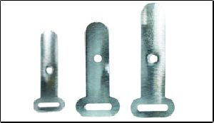 ALUMINIUM / TIN CABLE CLIPS