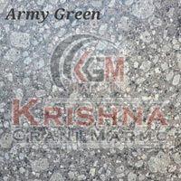 Army Green Granite Stone