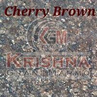 Cherry Brown Granite Stone