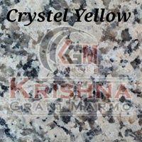 Crystel Yellow Granite Stone