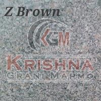 Z Brown Granite Stone