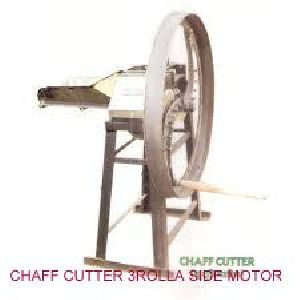 Motor Operated  3 Roller Chaff Cutter