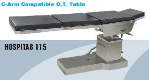 C Arm Compatible O.T. Table