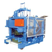 Hydraulically Operated Concrete Block Machine P1720