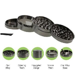 Herbal Zinc Alloy Weed Grinder