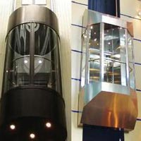 Capsule Glass Elevator