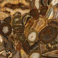 Brown Agate Slab