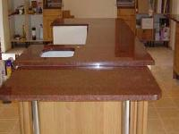 Bruno Red Granite Slab