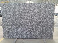 Carving R black Lappato Finish Granite Slab