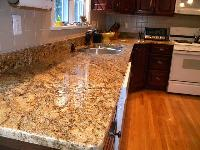 Golden Granite Slab 04