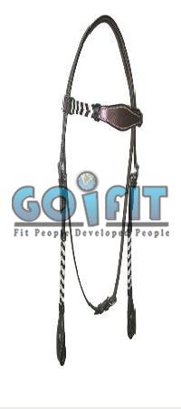 KLH 1003 Knotted Leather Headstall